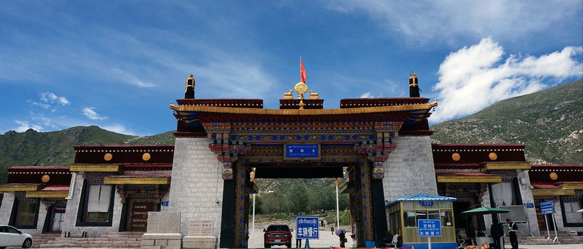 Drepung Monastery was built in 1416 and located in the suburb of Lhasa, 5 kilometers western from it.