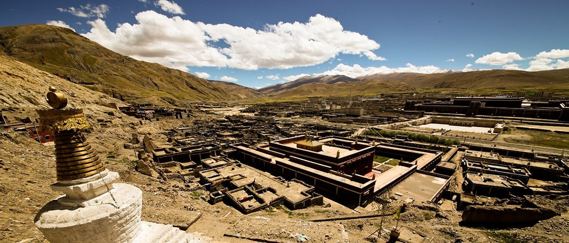 Sakya Monastery is a Buddhist monastery on the road to Tingri.