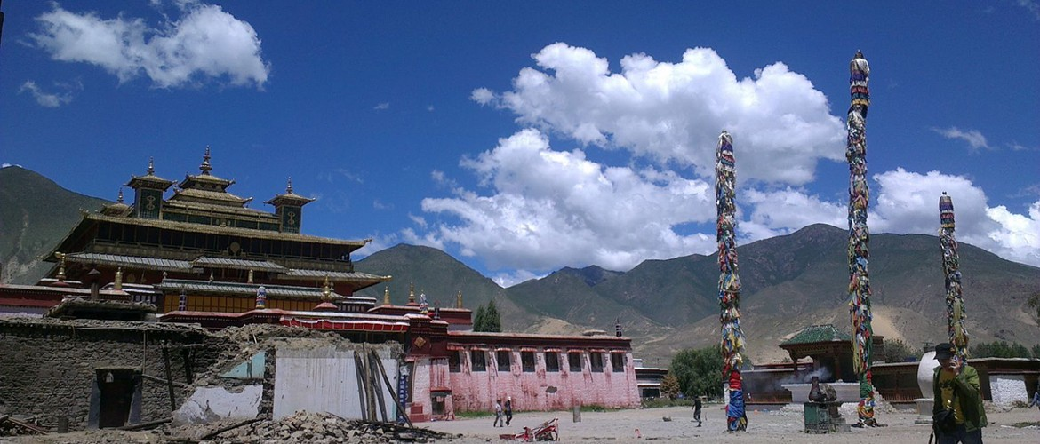 Samye Monastery was the first Buddhist monastery built in Tibet, located in Shannan Region of Tibet. It was first constructed around the 8th century.