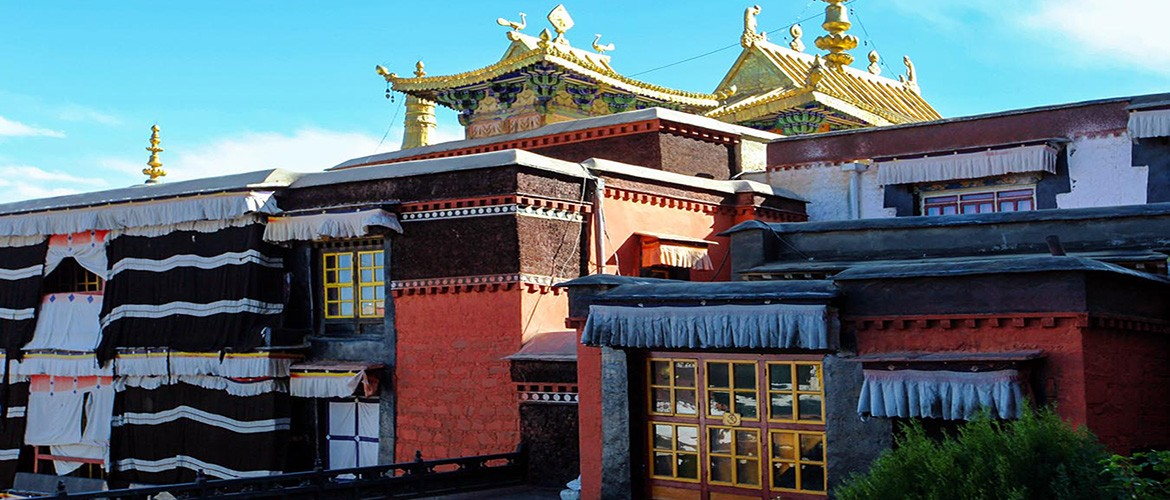 Tashi Lhunpo Monastery is seat to the Panchen Lama, the second most important spiritual leader of Tibet