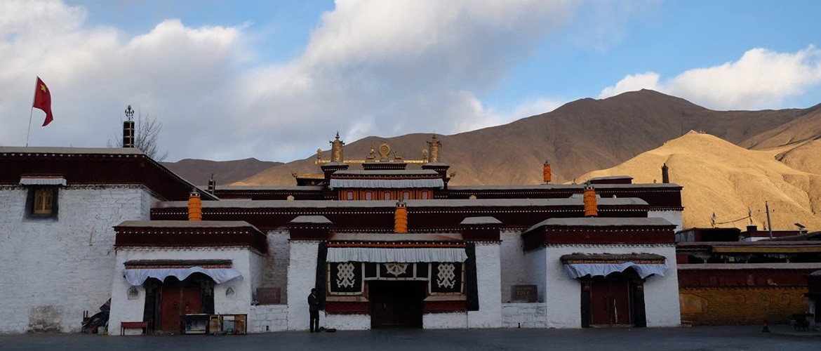 Trandruk Monastery is  one of the earliest monasteries in Tibet.