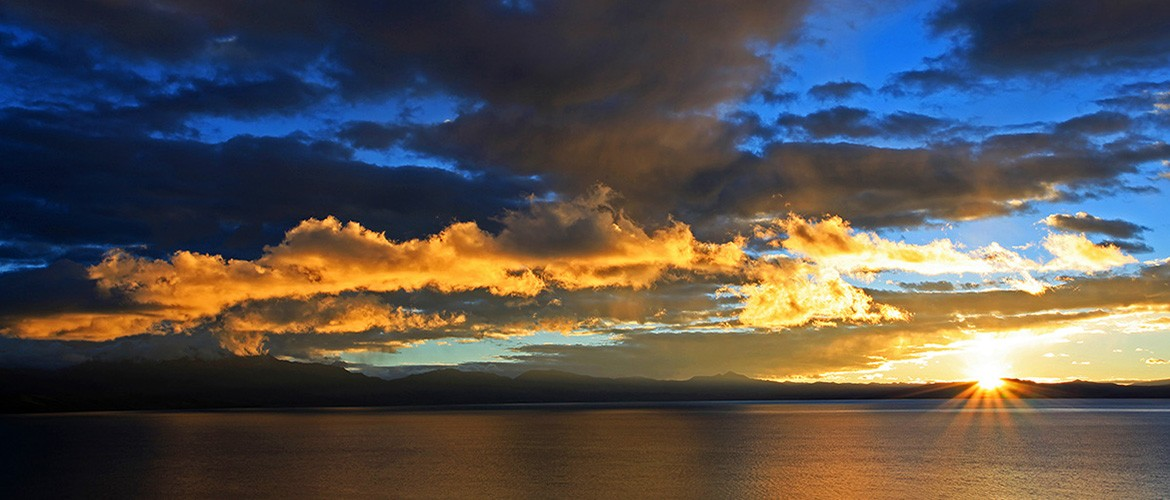 Lake Manasarovar is one of the three holiest lakes in Tibet. It is one of the highest fresh water lakes in the world with an average elevation of  4500 meters.