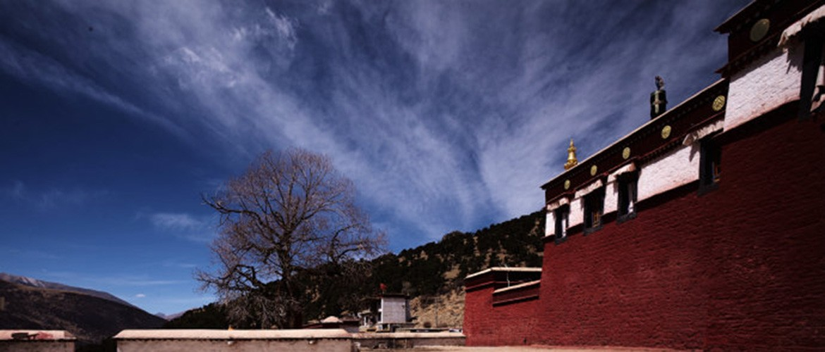 Reting Monastery was the first temple of the Kadam sect in Tibet.