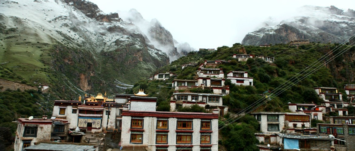 Tidrum Nunnery is at an altitude of 4500 meters.