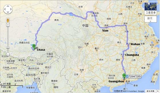 Guangzhou Tibet Train Tour