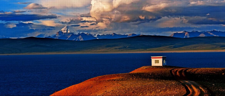 Mt. Kailash and Lake Manasarova