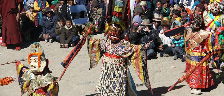 """The """"Tiaoshen"""" Dance in Shalu Monastery"""