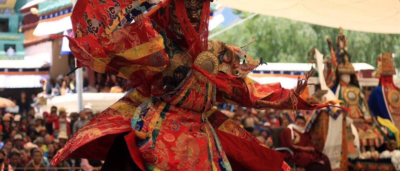 Festival in Samye Monastery