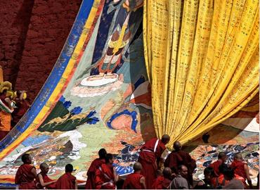 Ganden Thangka Festival Tour