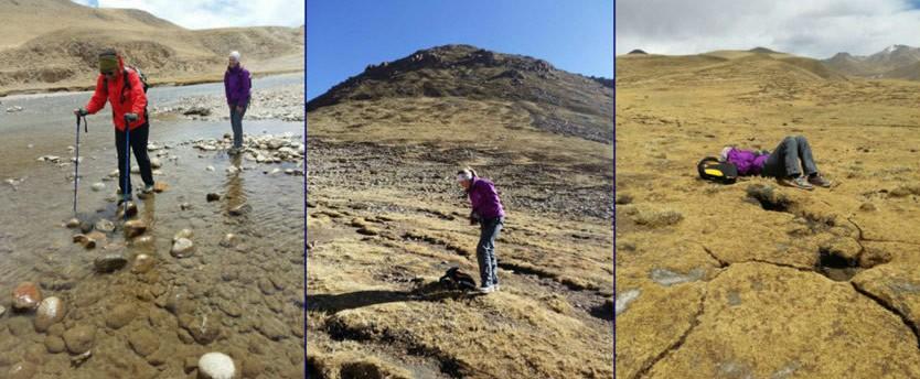 Australia & Finland  Tsurphu to Yangpachen Tibet Hikking Tour