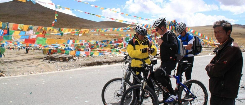 bike in tibet