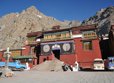 Dorje Drak Monastery specialized in the Northern Treasures.