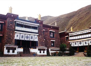 Mindroling Monastery is one of the six major monasteries of the Nyingma school in Tibet.