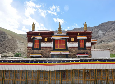 """The name of Mindroling Monastery in Tibetan means """"Place of Perfect Emancipation""""."""