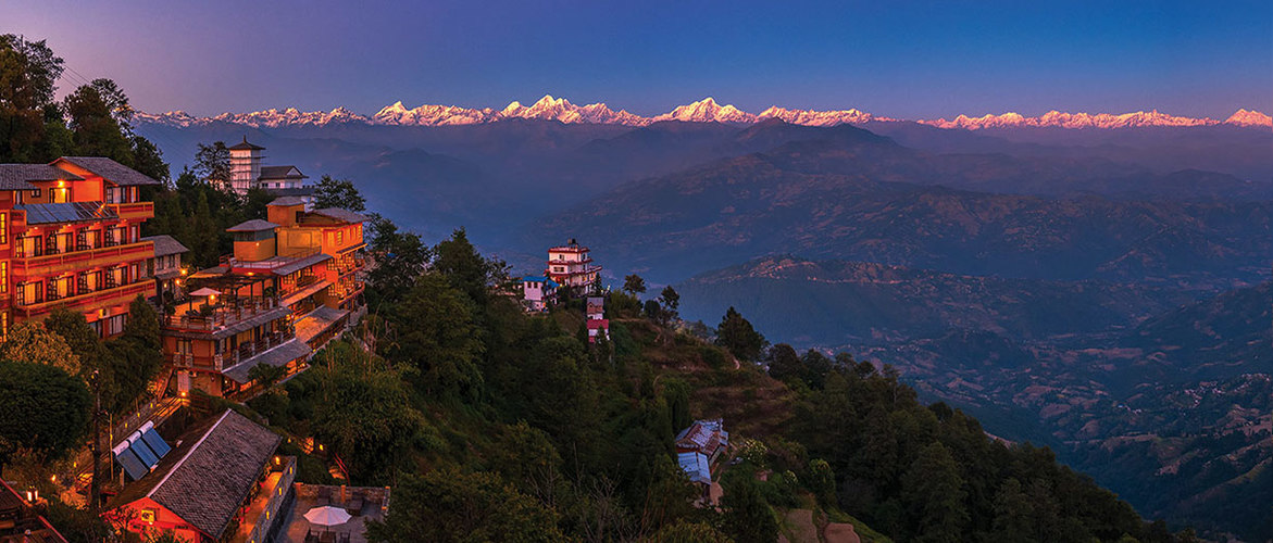 Although Nepal is at the other side of Himalaya mountains, the scenery is totally different.