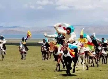 Nagqu Horse Racing Festival is the greatest annual event in northern Tibet