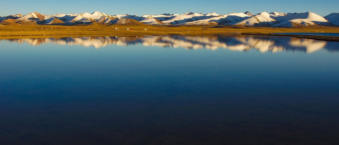Namtso Lake is famous for its beautiful scenery