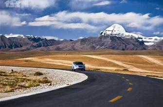 Road to Mt.Kailash.