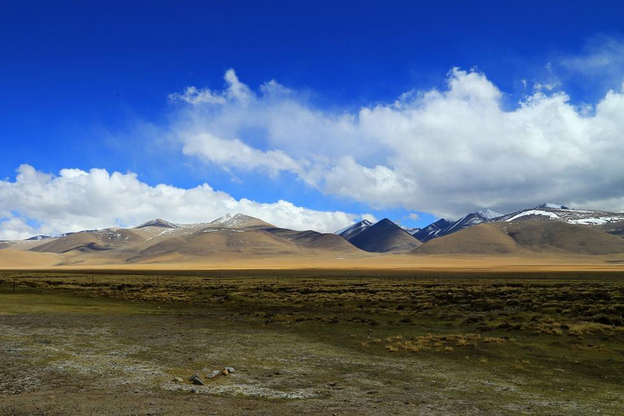 beautiful scenery of Ngari, Tibet