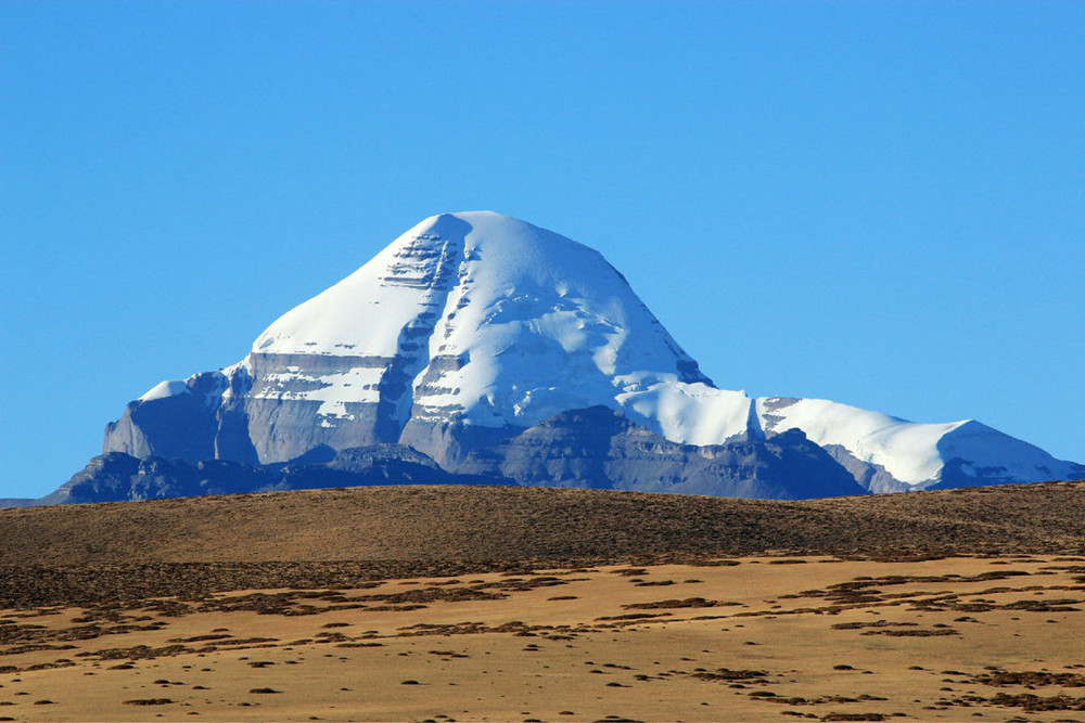 far view of Mt. Kailash