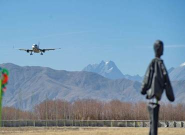 There are 5 major airports in Tibet