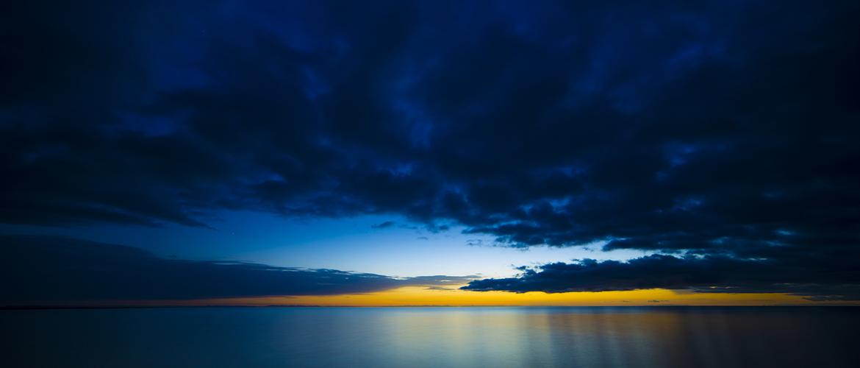 Qinghai Lake sunrise scenery