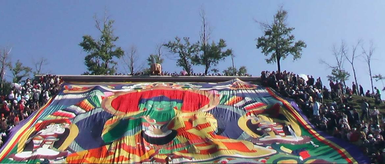 Thangka Unfolding Festival in Ta'er Monastery