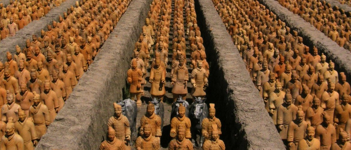 Terra Cotta Army Unearthed