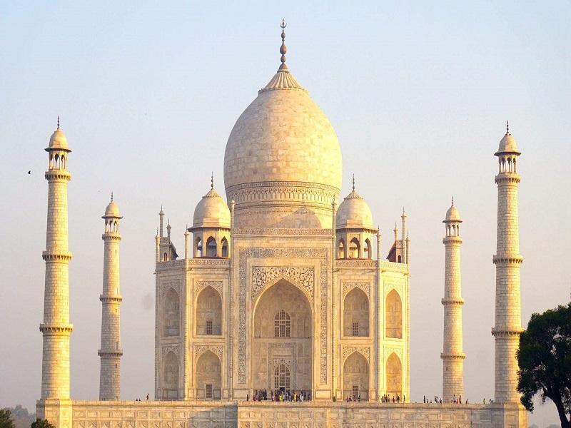 Taj Mahal, the landmark of India.