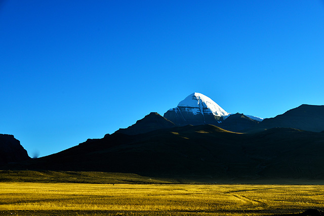 Mount Kailash is the destination for pilgrims all around the world