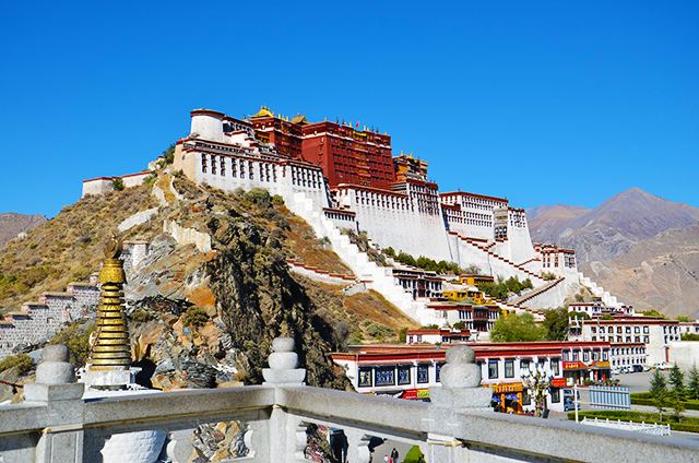 The Potala Palace is a must-see site in Lhasa