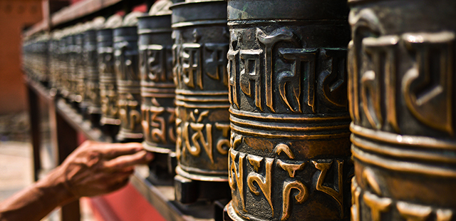 Tibet is dotted with sacred temples
