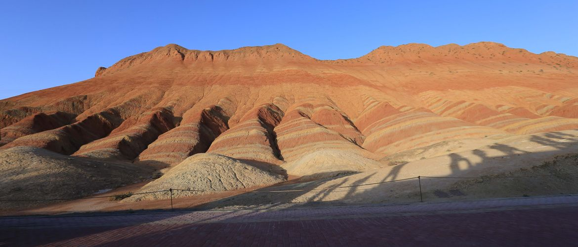 Zhangye Danxia National Geological Park is a must-visit place in Lanzhou.
