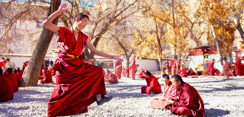 Sera Monastery is a famous monastery located in the northern suburb of Lhasa.