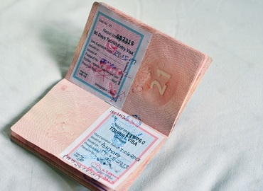a sample of Nepal Visa