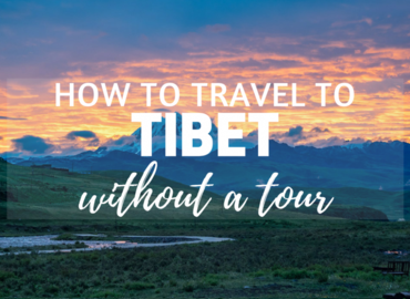 Independent travelers cannot get tibet travel permit without a tour currently.