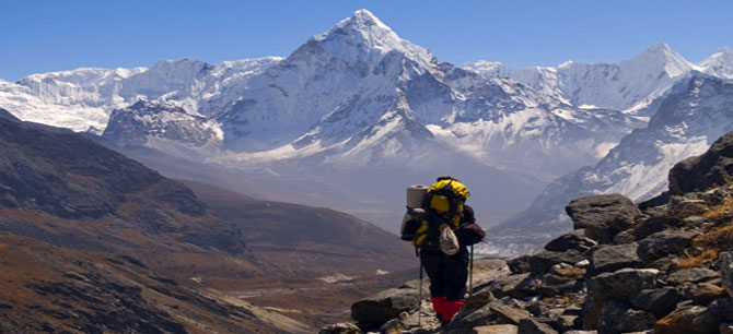 Tibet is really a great place for trekkers.