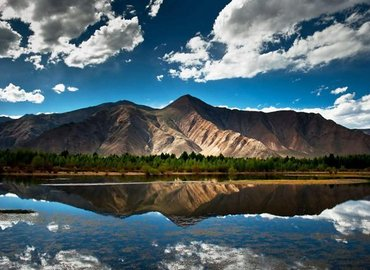 Beautiful landscape of Tibet