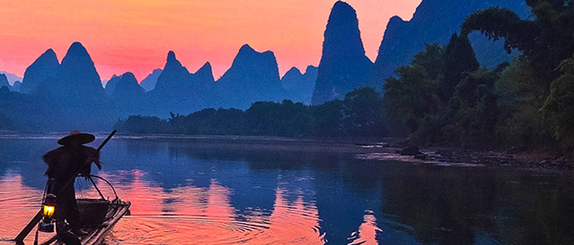 Guilin to Tibet Tour, you will see views totally different.