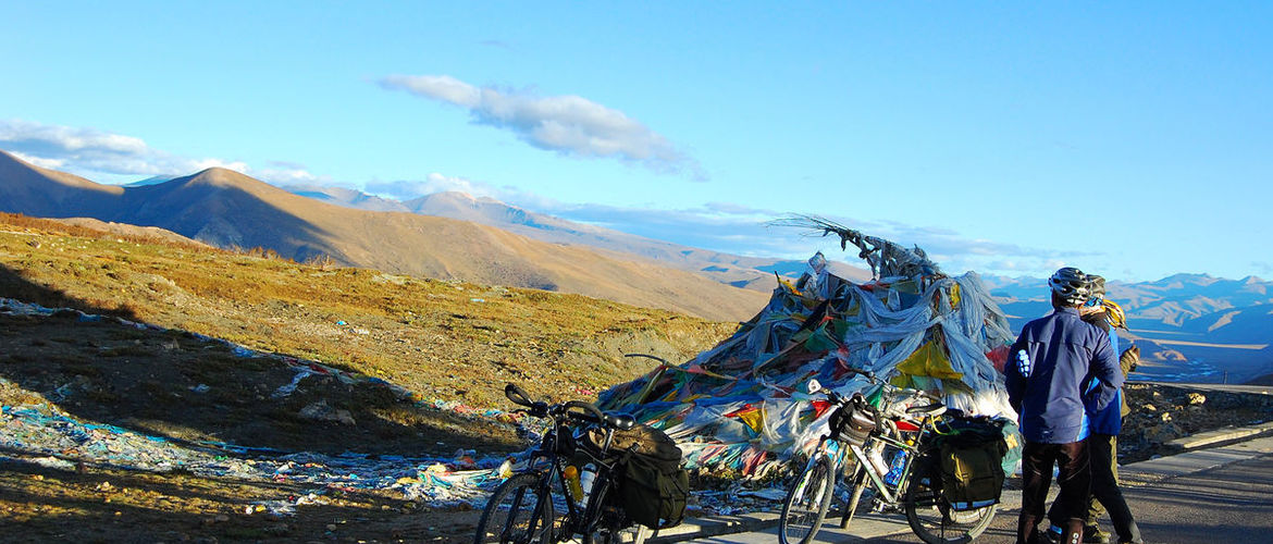This 19 days biking tour is challenging, however, it's worth trying.