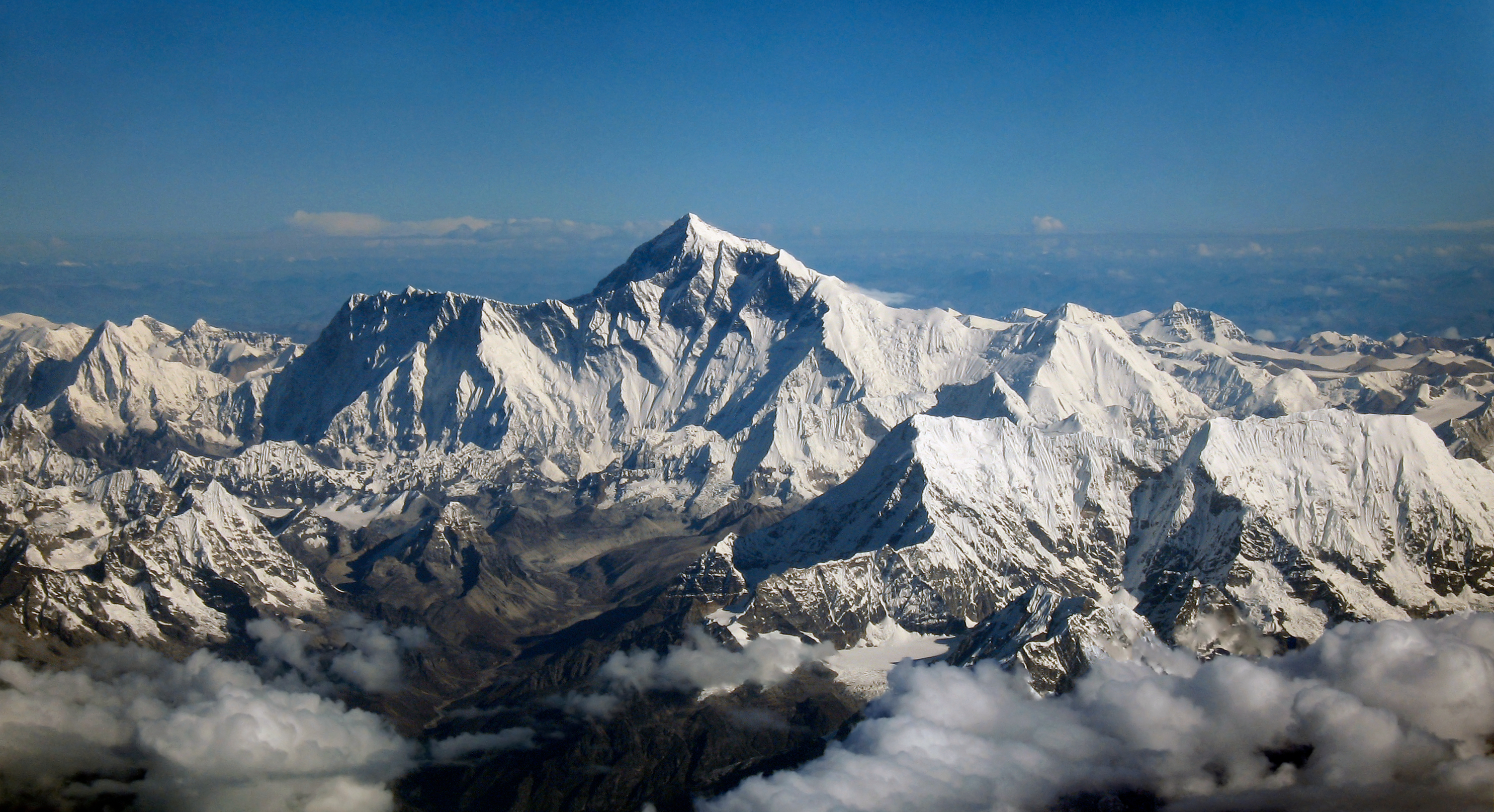 Visit Mt.Everest during summer.