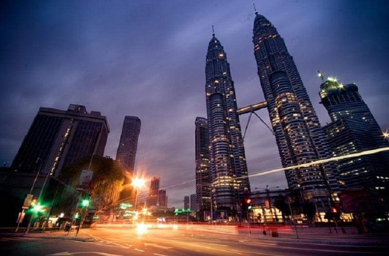 Street scene in Malaysia.