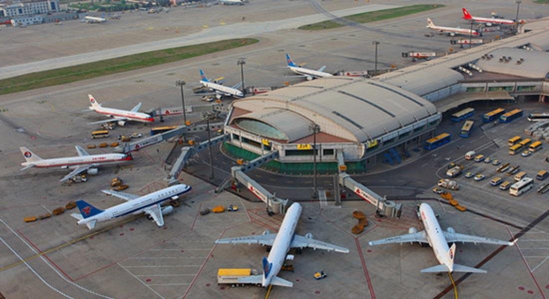 Capital Airport in Beijing.
