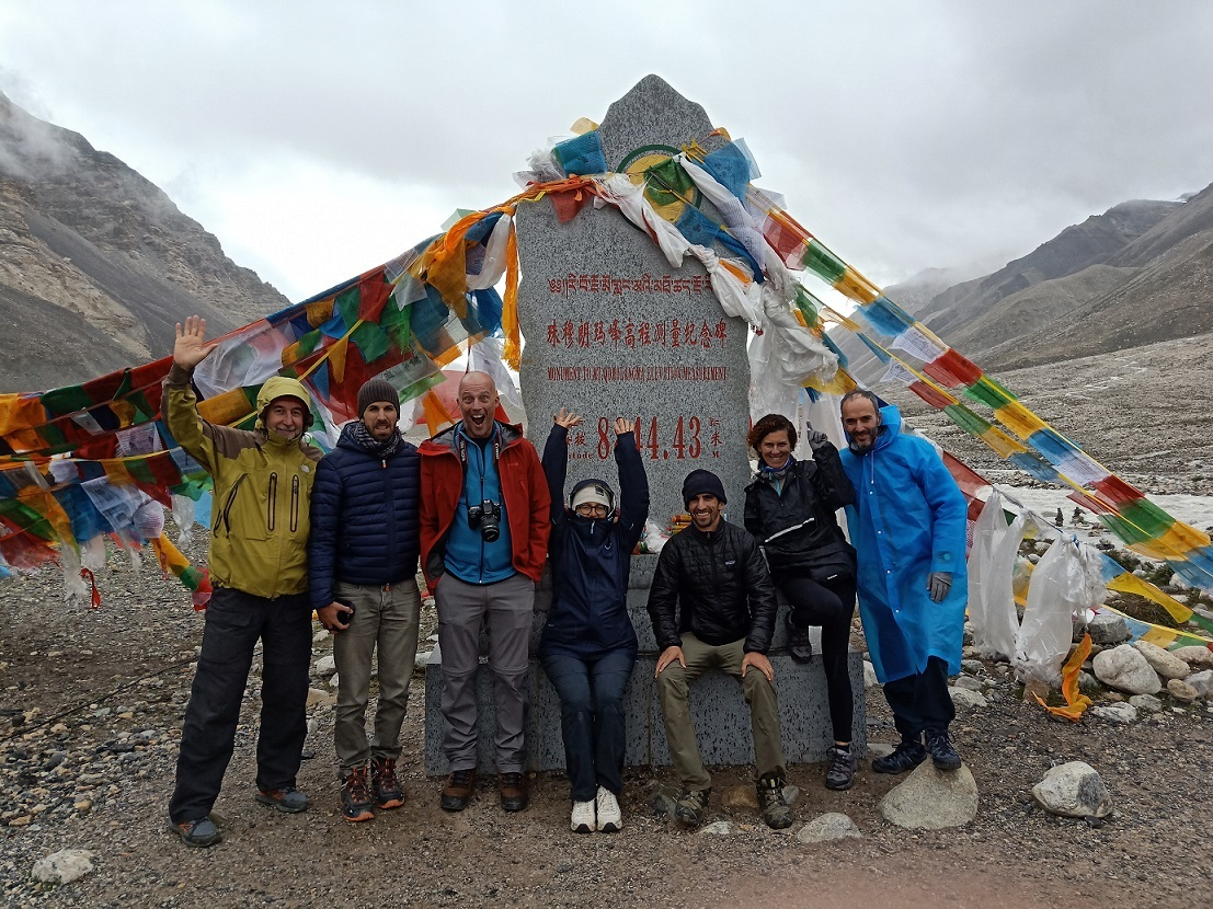 Everest Monument