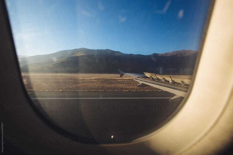 Gonggar airport in Lhasa