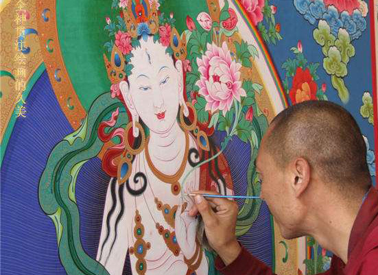 The Thangka Paintings