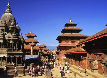 Kathmandu Durbar Square is a world heritage in Kathmandu.