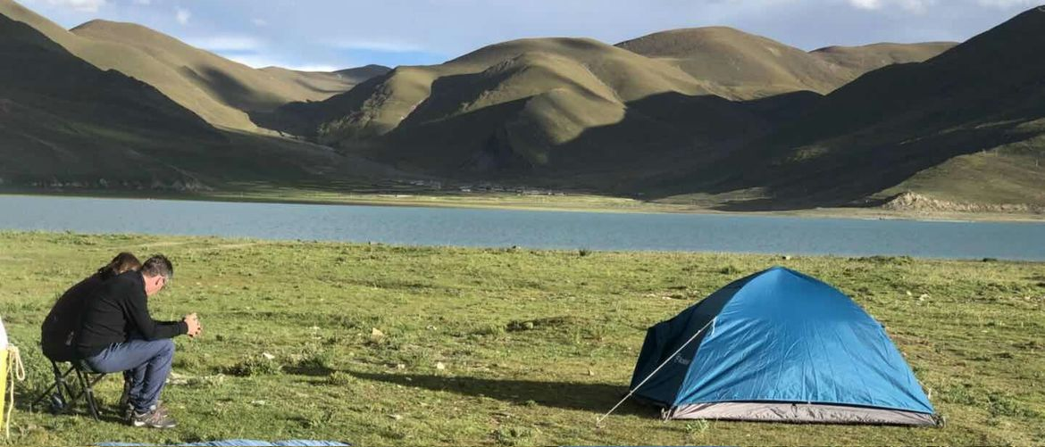 During your cycling trip, you can camp at some beautiful places to stay overnight.