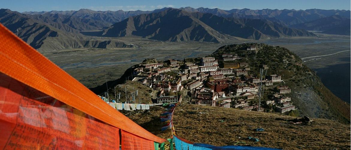 The most trekking route in Tibet is from Ganden Monastery to Samye Monastery.