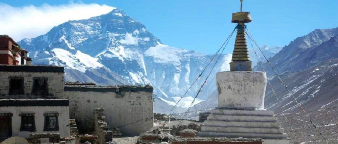You can see Mt. Everest from Rongbuk Monstery, where is the best position to take a photo of Everest.